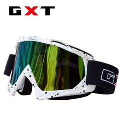 Опт GXT Motocross Goggles Мотоциклетные очки Велоспорт Внедорожные шлемы Спорт Gafas