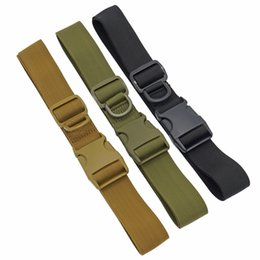 Chinese  Tactical Belt Men  SWAT Equipment Nylon Belt Army Outdoor Gear Hunting Paintball Hiking Waistband Strap Accessorie manufacturers