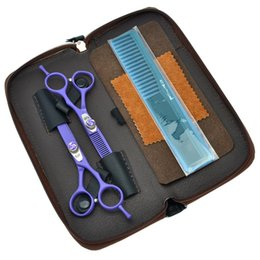 "Japan Beauty Tools Australia - Kasho 6.0"" Beauty Salon Cutting Thinning Shears Barber Shop Hairdressing Scissors Styling Tools Professional Barbers Tesoura Kits LZS0412"