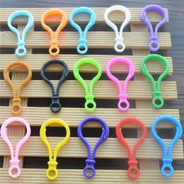 $enCountryForm.capitalKeyWord Australia - Plastic Candy Color Key Hook Toy Apparel Accessories Gourd Doll Button Color Keychain