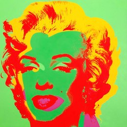 Marilyn Monroe Abstract Paint Online Shopping Marilyn