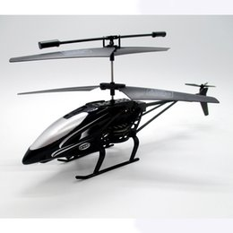 Red toy boxes online shopping - hot Anti impact RC Helicopter Channel Remote Control Helicopte Boys Birthday Christmas Toy colors STY093