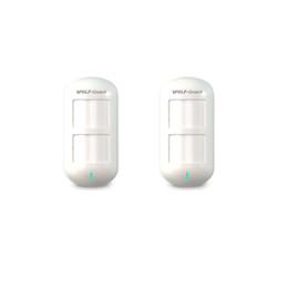 $enCountryForm.capitalKeyWord NZ - 2 x Wolf-Guard Wireless Dual Pet Immune PIR Sensor Motion Detector for Home Security Alarm System 3G GSM Alarm Panel 433MHZ HW-06D 2pcs lot