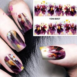 $enCountryForm.capitalKeyWord NZ - 1pcs 2018 New Water Transfer Nail Sticker Harajuku Printing Fashion Nail Art Decals Manicure Tools Paper Gel Sticker
