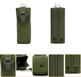 China New Outdoor Sports Phone Hunting Military Tactical Airsoft Paintball Molle Phone Radio Talkie Water Bottle Canteen Bag Pouch 2018 suppliers