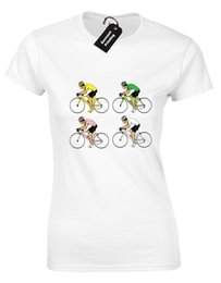 Cycling Cyclist NZ - TOUR DE FRANCE JERSEYS LADIES T-SHIRT FUNNY CYCLING CYCLIST BIKE GIFT IDEA (COL) Funny free shipping Unisex