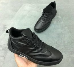 Fashionable Flat shoes laces online shopping - no walking lightweight Leather fashionable casual shoes Training Sneakers top mens trainers athletic sports running shoes for men boots