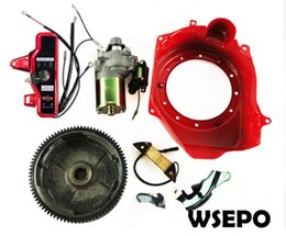 Engine Start Australia - Factory Direct Supply and Top Quality! Electric Start Rebuild Kit fits for GX160 168F 170F GX200 Gasoline 4 Stroke Air cooled Engine