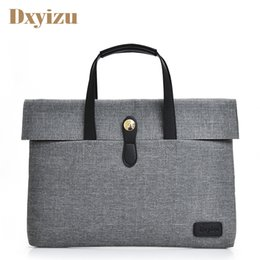 $enCountryForm.capitalKeyWord Canada - Fashion Waterproof Mens Handbags Solid Color Multifunction Laptop Men Women Bag Office Bag Nylon Totes Male Daily Handbag Solid