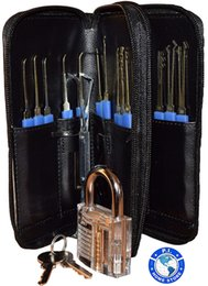 $enCountryForm.capitalKeyWord Australia - 28-piece Premium lock and key puller set. With Practical Transparent Locksmith Lock, Picking Tools, Key Remover Hooks