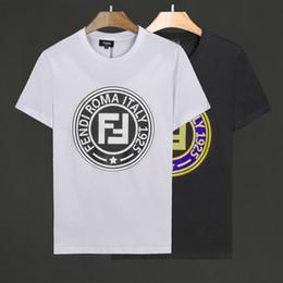 bc485bf886 Camiseta para hombre 2019 Nueva camiseta caliente Hombre de manga corta de  algodón elástico Tejido bordado Estampado de tigre Moda de diseñador  Diseñado ...