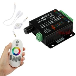$enCountryForm.capitalKeyWord Australia - DC12V 24V 18A 6x3A Music 2 Controller LED RGB Music Sound Sensitivity Controller with RF Wireless Remote for RGB LED Strip