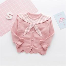 $enCountryForm.capitalKeyWord Australia - Hot Fashion Cotton Cardigan for Girls Full-Sleeve Girls Cardigan Shrug 0-4T Girl Clothing Sweaters Spring Autumn Winter CA228