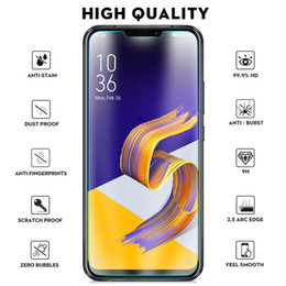 tempered glass screen asus zenfone NZ - For Asus Zenfone 5 ZE620KL Tempered Glass Screen Protectors Anti-Bubble Anti-Scratch Anti-Fingerprint Film For iPhone X XS XR XS