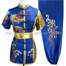 $enCountryForm.capitalKeyWord UK - Embroidery Chinese Wushu uniform Kungfu clothes taolu outfit Martial arts outfit changquan garment for men women boy girl children kids