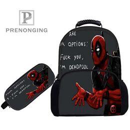 112bf706bd32 Custom 17inch deadpool Backpacks Pen Bags 3D Printing School Women Men Travel  Bags Boys Girls Book Computers Bag 1031-01-33