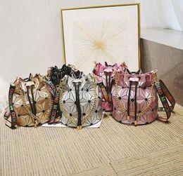 8376b4a975fb Hot Sale Famous Brand Bao Bao Women Female Bag High quality Geometric  Handbags Plaid Chain Shoulder Crossbody bags Laser BaoBao Diamond Bag