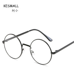 24f814b9a94 KESMALL Newest Fashion Myopia Eyeglasses Frames Women Brand Design High  Quality Glasses Frame Lunette Ronde Vintage De Vue XN864