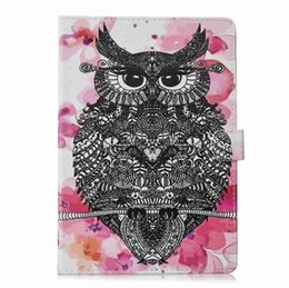 Ipad Tablet Stands Australia - Cartoon PU Leather Cover For Apple iPad pro 9.7 Case Smart Stand Shell For ipad A1673 A1674 A1675 Tablet Case+Stylus Pen+Film.