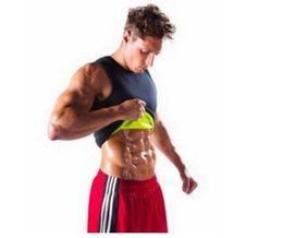 $enCountryForm.capitalKeyWord UK - Men Body Shaper Vest Gym Neoprene Sauna Ultra Thin Slimming Corset Sweat Shirt Body Shaper Slim Tummy Belly