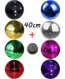 Rotating Disco Ball Light Australia - D40cm*40cm 15.7