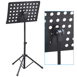 Heavy Duty Orchestral Sheet Music Stand Holder Height Adjustable Tripod Base on Sale