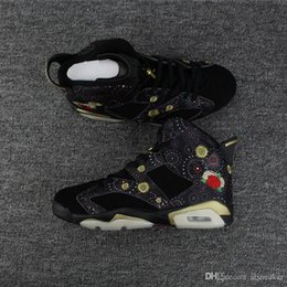 quality gold years 2019 - Mens High Quality 6 CNY Chinese New Year Basketball Shoes For Sale Black Multi-Color Summit White Metallic Gold 6s cheap