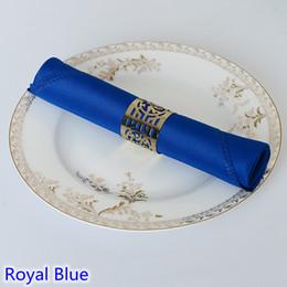 $enCountryForm.capitalKeyWord Australia - Royal Blue colour Plain polyester table napkins coloured napkins for weddings hotel and restaurant decoration table napkin cloth
