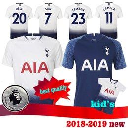 d89d3b3e771 2018 2019 spur soccer jersey 10 KANE Men 3 ROSE 2 Trippier 8 WINKS 11  LAMELA 27 MOURA 19 DEMBELE