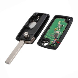 peugeot blade UK - 3Buttons Trunk HU83 Blade&433MHz PCF7961 chip Remote key For PEUGEOT 207 208 307 308 408 For Citroen CE0536 ASK Signal