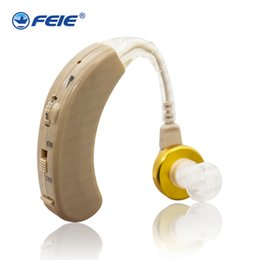 Wholesale 2018 New inventions FEIE France Hot Selling BTE S Wireless amplificador del oido audifonos para sordoss