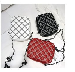$enCountryForm.capitalKeyWord Australia - Black Handbags Women Shoulder Crossbody Bag Female Casual Mini Totes High Quality Leather Ladies Messenger Bag White Red