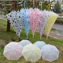 special umbrella NZ - Children's umbrella sand dot umbrella creative shade umbrella manufacturers special wholesale