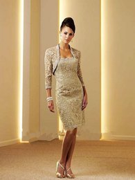 Mother Bride Dresses Jackets Pants NZ - Best Selling Lace Knee Length Mother Of The Bride Pant Suits Dresses With Jacket Formal Women Dress Bride Mother Dress 2018