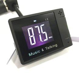 2017 heißer verkauf mode Car Kit Freisprecheinrichtung Bluetooth FM Transmitter MP3 Player LCD Display sehr gut