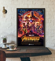 $enCountryForm.capitalKeyWord UK - Avengers Infinity War Movie Poster Wall Art Wall Decor Silk Prints Art Poster Paintings For Living Room No Frame c05