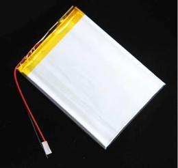 Vente en gros Batterie au lithium ion de polymère de 3.7V 3000MAH pour le PC de comprimé androïde Q88 PBB010