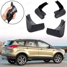 Wholesale Novo 4x Carro Mud Flaps Respingo Fender Guard Guarda-Lamas apto para Ford Escape / Kuga 2013 2017