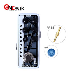 $enCountryForm.capitalKeyWord Australia - Mooer Micro Digital Preamp 005 Fifty-Fifty 3 High quality dual channel preamp with 3Band EQ effect pedal 2 different modes for footswitch op