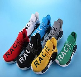 346e3c47ca2ac 8 Photos online shopping Pharrell quot Friends and Family quot NMD HUMAN  RACE Hu nmds Williams Runner Shoes