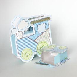 $enCountryForm.capitalKeyWord NZ - 1000pcs lot Cartoon Paper Train Candy Box Baby Shower Favors Wedding Party Favor Kids Birthday Chocolate Boxes ZA5472