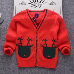 $enCountryForm.capitalKeyWord Canada - School Outfits 2018 Boys Sweaters Baby Boys Cardigans Knit Kids Clothes Autumn New Fawn pocket Kids Sweaters Boys Clothing