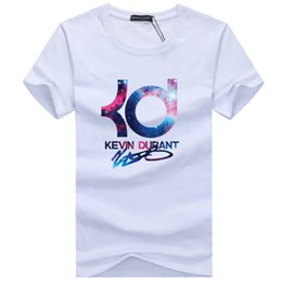 40cb93230 New 2018 Summer Brand Basketball KD Mens T Shirt Short Sleeved Male Hip Hop  Casual Stylish O-Neck Male Tops   Tees S-5XL
