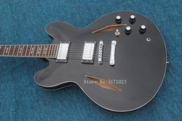 $enCountryForm.capitalKeyWord NZ - Matt Black Custom Hollow Jazz Guitar 335 Electric Guitar New Arrival Wholesale