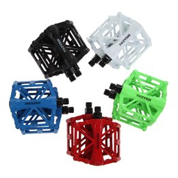 """Cycle Pedals Mountain NZ - Bicycle BMX Mountain Bike Pedal 9 16"""" Thread Parts Super Strong UltraLight Platform Magnesium Outdoor Sports Cycling Bike Pedals"""