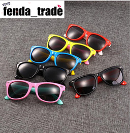rubber sunglasses NZ - 17 Colors MOQ=10pcs rubber frame New Children TAC Polarized Sunglasses Kids Designer Shades For Girls Boys Goggle Baby Glasses retro eyewear