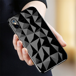 Tpu cover shining online shopping - Diamond Pattern Phone Case For IPhone X Luxury Ultra Thin Soft TPU Cases For IPhone s Plus Shining Cover