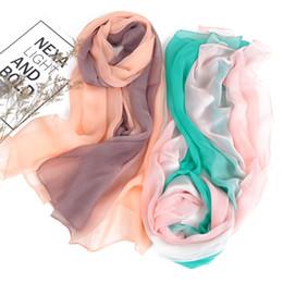 ca3c05a94 New Style Scarf Women,georgette Scarf,gradual change scarf,Muslim  hijab,beach towel,ultrathin silk,headband and shawl,cape