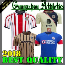 Tijuana 2019 LIGA MX Club America Cuervos Cruz Azul soccer Jerseys New home  away Third Yellow 17 18 Monterrey Camisetas football Chivas 33100578b