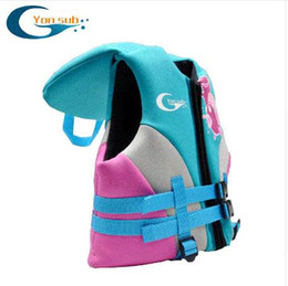 $enCountryForm.capitalKeyWord Canada - Kid Lift Vest Swimming Boy Girl Children Life Jacket Swimwear Trainer Water Sports For Drifting Upstream Diving Equipment